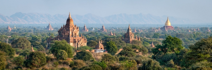 City of Bagan listed as UNESCO world heritage site, Myanmar