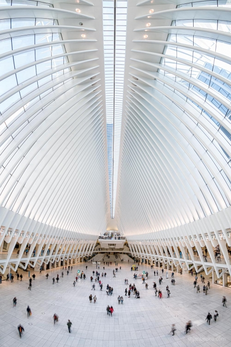 World Trade Center station also known as Oculus, New York City, USA