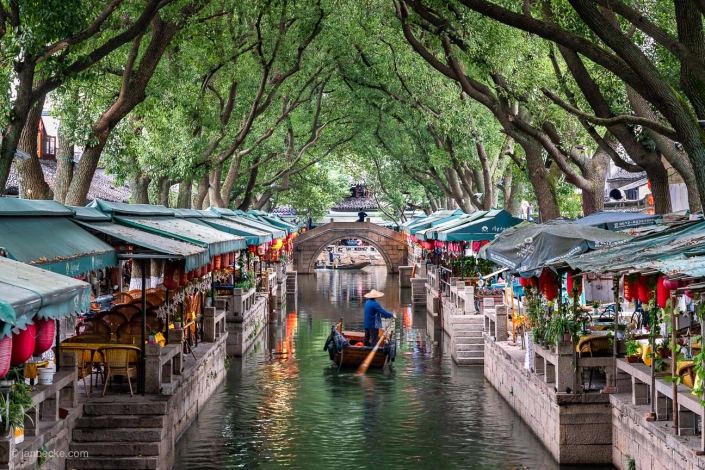 Tongli Water Town in the Jiangsu province in China