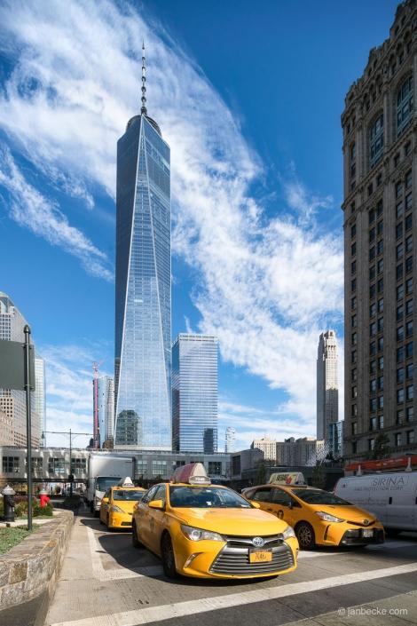 One World Trade Center in Lower Manhattan